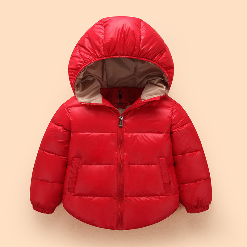 Brand New Child jacket Spring down Jackets for girls winter coat fashion children clothing Kids Hooded Coat Thicken down jacket