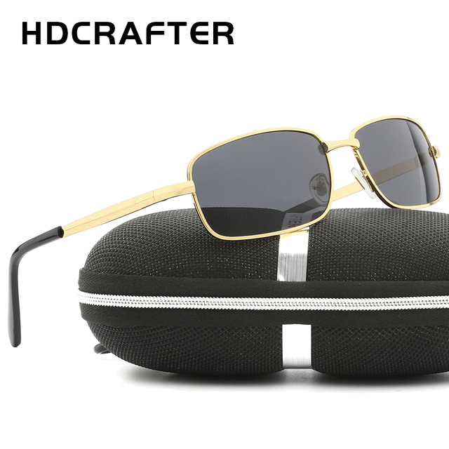 59041dddb5 HDCRAFTER 2018 Fashion Sun Glasses Outdoor Polarized sunglasses UV400 Mens  Driving Eyewear High Quality