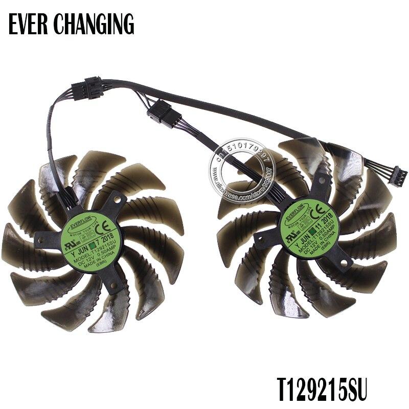 88mm T129215SU PLD09210S12HH 12 V 4Pin ventilador para Gigabyte GeForce GTX 1060 1070 GTX1060 GTX1070 tarjeta gráfica refrigerador ventilador