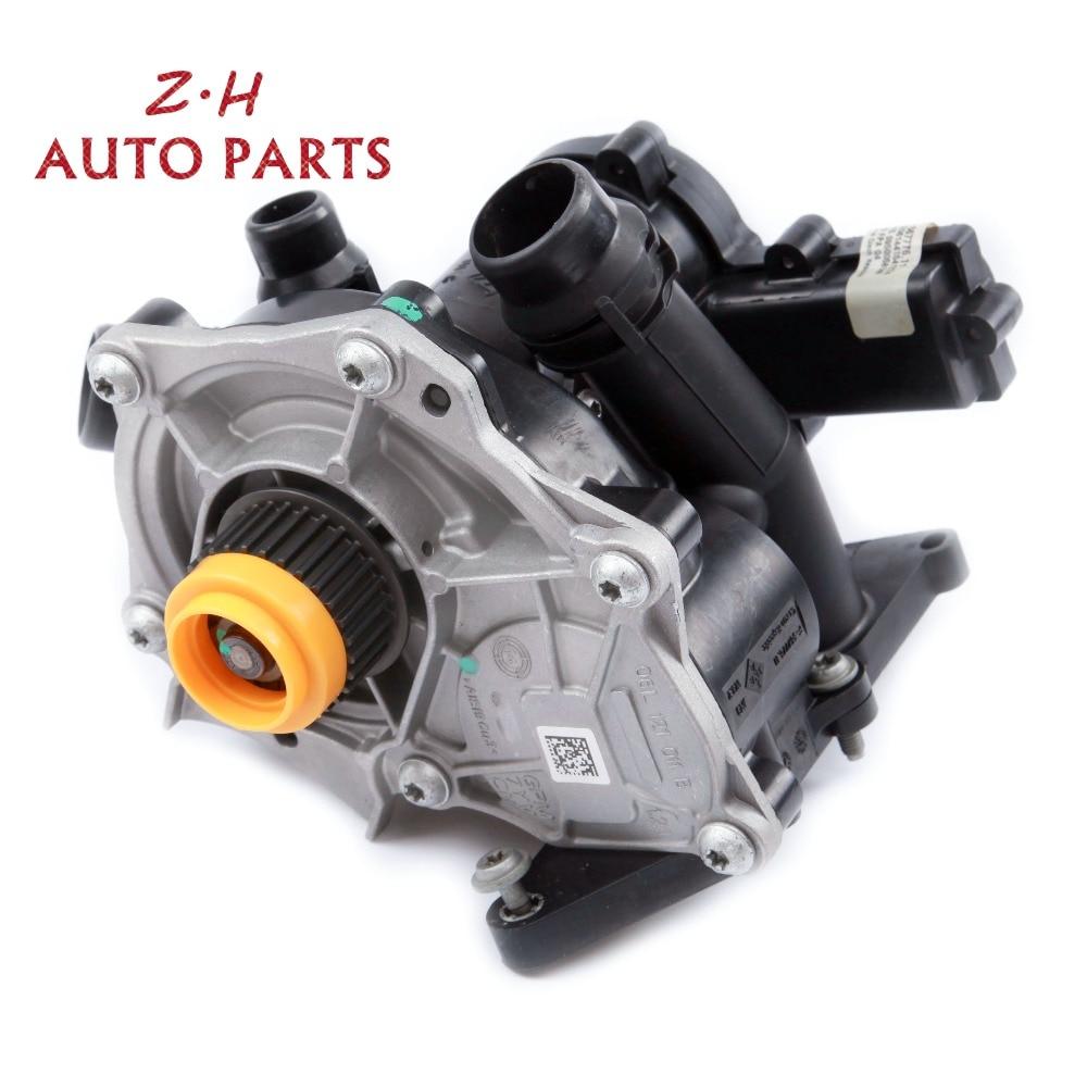 NEW Engine Water Pump Thermostat Cooling Regulator Assembly 06L 121 111 F For VW Golf MK7 Passat Audi A4 Q5 3rd EA888 1.8/2.0TNEW Engine Water Pump Thermostat Cooling Regulator Assembly 06L 121 111 F For VW Golf MK7 Passat Audi A4 Q5 3rd EA888 1.8/2.0T