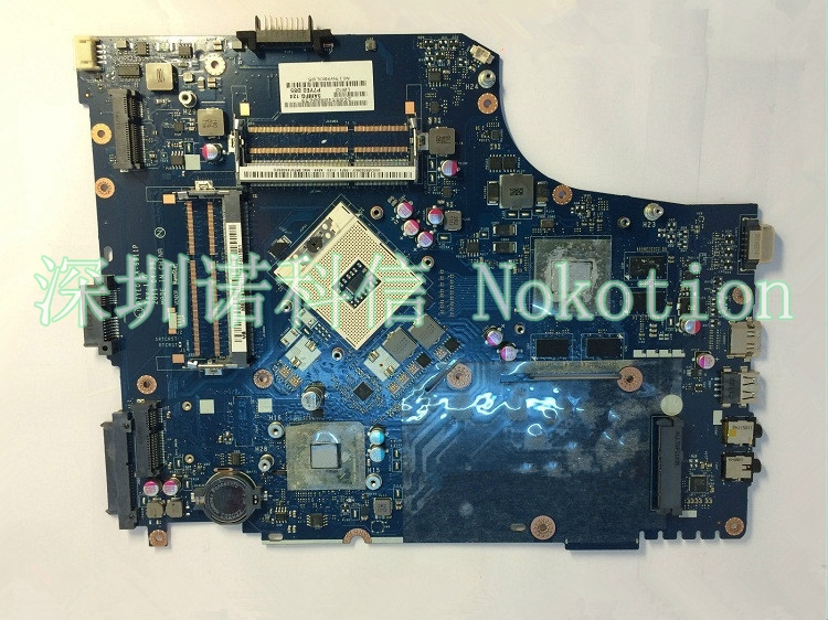 цена на NOKOTION Original MBRCZ02002 P7YE0 LA-6911P For ACER Aspire 7750 7750G Laptop Motherboard Pga989 DDR3 Hm65