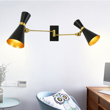 Post Modern Adjustable Wall Lamp Contemporary Lights Sconce Bedroom Kitchen Stair Living-Room Decor Home Lighting Fixture