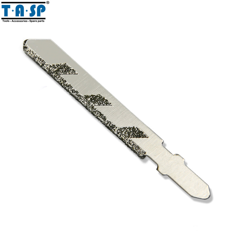 TASP 76mm Diamond Jig Saw Blades T-shank Jigsaw Blade Grit 50 For Granite Tile Ceramic Cutting