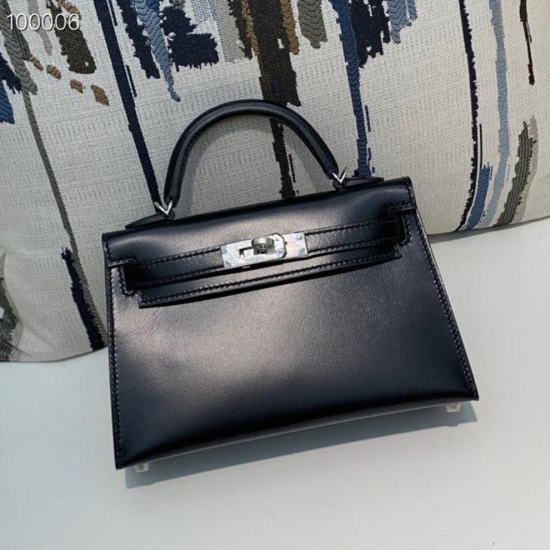 Women Bag Runway Luxury Handbags Top-Quality Genuine-Leather Desigin Brand of Female