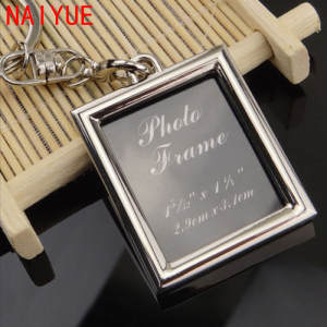 NAI YUE NAIYUE DIY Photo Picture Frame Custom Keychain Gift