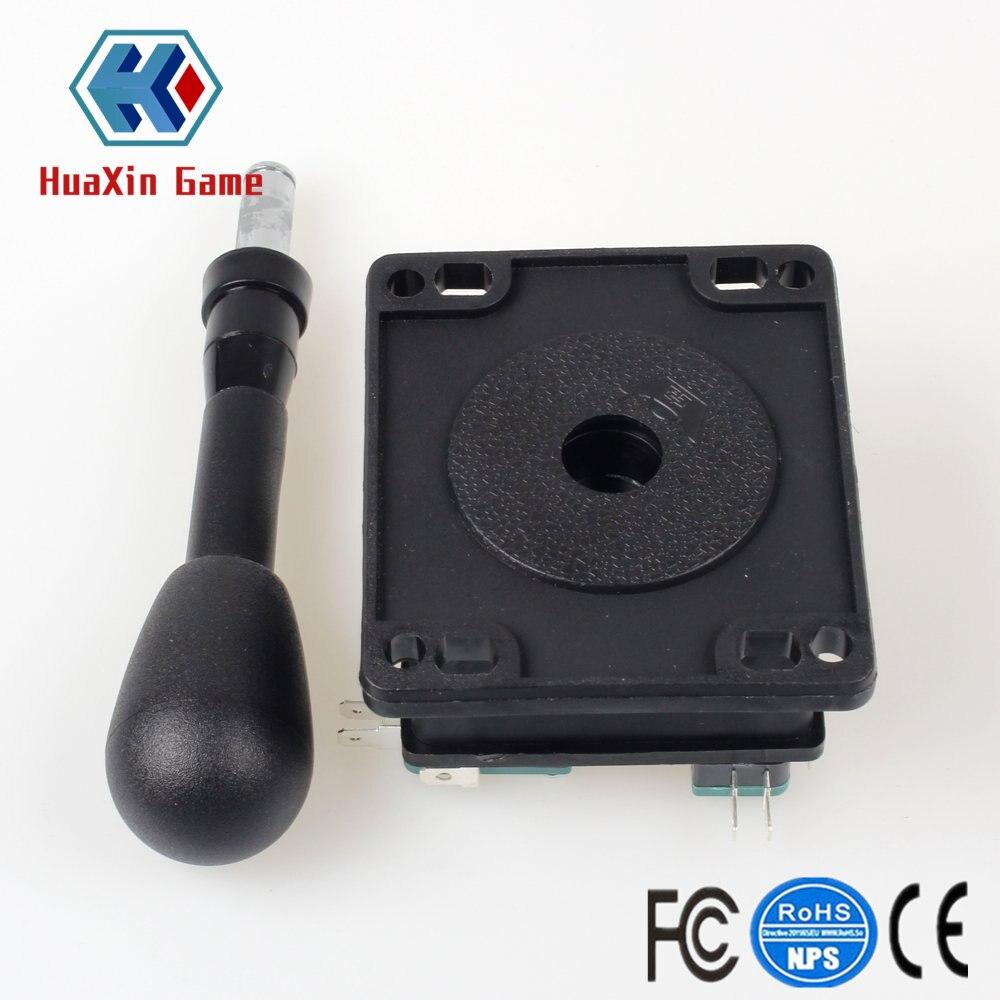 "Happ Type 2Pin Joystick Switchable Elliptical Black Handle 187/"" terminal 4.8mm"