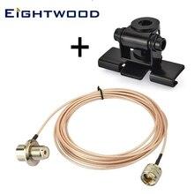 Удлиннитель антенны кабель автомобиля радио PL259 до SO239 для мобильного радио автомобиль Хэм грузовик CB двухстороннее радио Любительская антенна ЧМ-передатчика