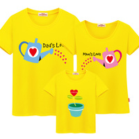 Mother Daughter Matching Clothes The Seeds Of Love Matching Clothes Family 100 Cotton 5 Colors Quality