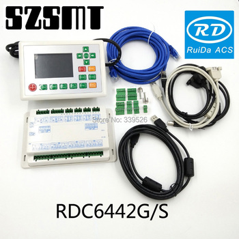 RDC6442S RDC6442G CO2 RD Controller  System For Laser Engraving And Cutting machine ruida rd rdlc320 a co2 laser dsp controllerr rd320a co2 laser controller use for laser engraving and cutting machine