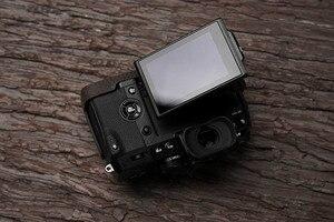 Image 5 - Fuji X H1 XH1 caméra Mr. Stone fait à la main en cuir véritable caméra étui vidéo demi sac caméra body