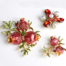 5Pcs Fashion Pomegranate Charms Pendant New Flowers Handmade DIY Jewelry for Bag Headwear Accessories