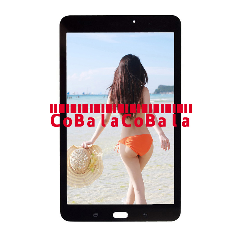 5 шт. ЖК-дисплей Дисплей сборки для Samsung Galaxy Tab E 8,0 T375 t377 T378 Сенсорный экран планшета Панель Замена DHL Бесплатная
