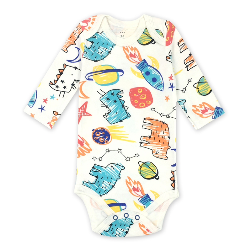Newborn   Rompers   Soft cartoon cotton baby children clothing set comfortable infant clothes baby's sets Baby girl boy clothes