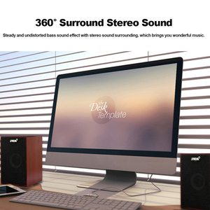 Image 4 - SADA Computer Speakers USB Wired Combination Soundbox Super Bass Mini Wooden PC Speaker for Laptop Smart Phone MP3 3.5mm AUX IN