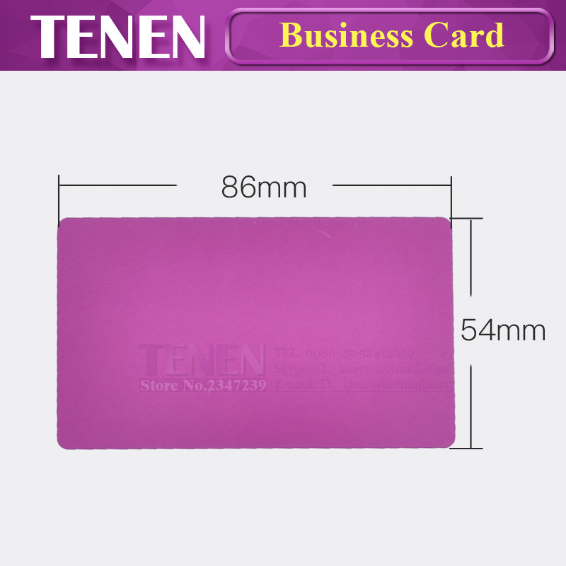 100pcslot multicolor business card smooth blank name cards 100pcslot multicolor business card smooth blank name cards aluminium alloy metal sheet debugging laser engraved marking machine in woodworking machinery colourmoves