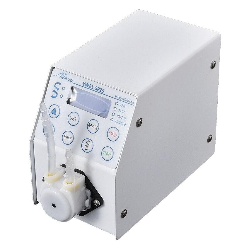 YW21 высокая точность регулируемый микро цифровой контроль перистальтический насос дозирующий и дозирующий насос интеллектуальный цифровой