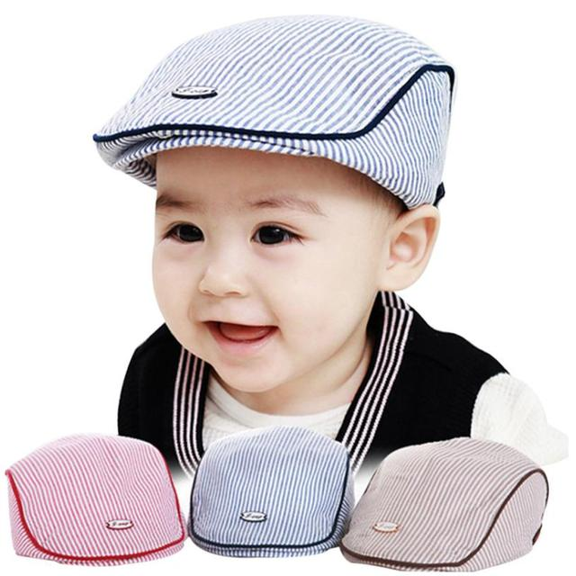 Image trendy baby Stylish Hot Selling New Trendy Baby Boys Girls Hat Colors Children Cap Cute Baby Infant Boy Girl Stripe Beret Cap Peaked Baseball Hat Goods Alliance Hot Selling New Trendy Baby Boys Girls Hat Colors Children Cap