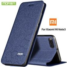 MOFI Shell For Xiaomi Mi Note 3 Case Cover mi note Silicon Luxury Flip Leather 360 Protect