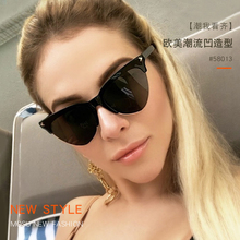 FEISHINI Brand Superstar Red Half Frame Sunglasses Women Cat eye 2019 High Quality Classic Semi-Rimless Sunglass Ladies Retro цена в Москве и Питере