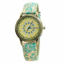 1e9353c8f0a Relógios De Imitação de Porcelana Retro das mulheres Cinta cinto Mostrador  Digital de Quartzo Senhoras Relógio