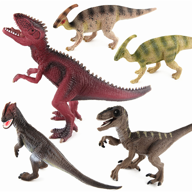2017 Christmas Gift Jurassic Dinosaur Toys Animal Figure Model Action Figure jurassic velociraptor dinosaur pvc action figure model decoration toy movie jurassic hot dinosaur display collection juguetes