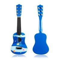 הנמרץ גיטרה הצעצועים לילדים צוללת עולם אקורד גיטרה כלי לחינוך לגיל רך חג המולד