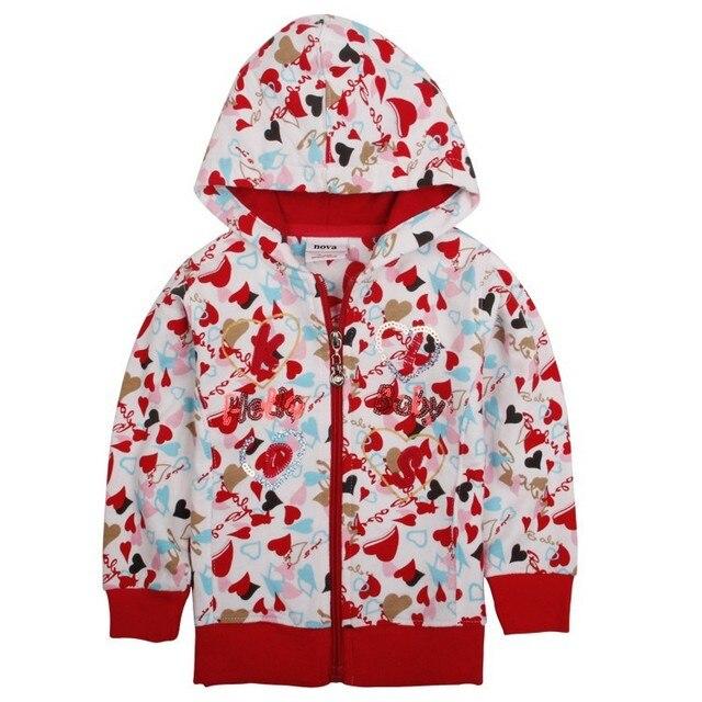 Белый красный дети толстовки детская одежда куртка молнии новый год Кофты для девочек-подростков детские спортивные костюмы хлопка одежды
