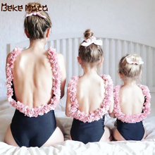 Mother Daughter Swimsuits Flower Mommy And Me Clothes Family Matching Swimwear Family Look Bikini Mom And Daughter Bathing Suit floral mother daughter swimwear mommy and me clothes family look bikini swimsuits mom daughter matching bathing suits dresses