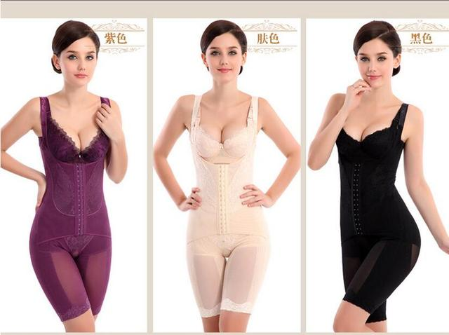 b638e2e9f36 Plus Size Women Sexy Intimates Full Body Shaper Corset Underwear Postpartum Girdles  Waist Corsets Butt Lifter Shapewear
