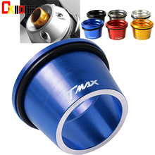 6 Colors Motorcycle CNC Aluminum Exhaust Pipe Muffler Tail Port Cover Cap For Yamaha Tmax530 2012 2013 2014 2015 2016 2017 cnc motorcycle exhaust pipe muffler tail port cover cap for yamaha tmax530 tmax 530 t max 530 2012 2013 2014 2015 2016 2017