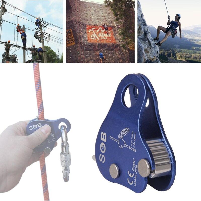 Klettern Rappel Protector Seil Greifen Dbi sala Protecta Getriebe ...