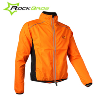 ROCKBROS 4XL Windbreaker Men Cycling Jacket Windproof Reflective Bike Jacket Women Jacket Vento Ciclismo Clothing Cycling