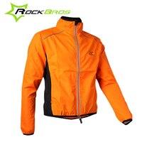 ROCKBROS 4XL Windbreaker Men Cycling Jacket Windproof Reflective Bike Jacket Women Jacket Vento Ciclismo Clothing Cycling