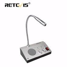 Retevis rt-9908 dual-путь счетчик домофон аудио запись анти-помех окна домофон для банка больница автовокзал