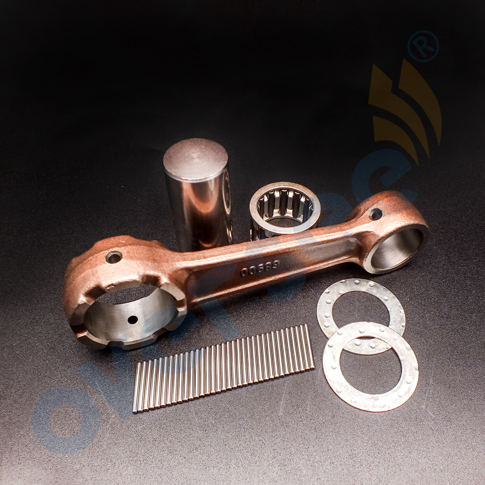 689-11651-00 Connecting Rod Kit for Yamaha Parsun 30HP 25HP 2stroke T30 Outboard boat Engine motor brand new aftermarket parts цена