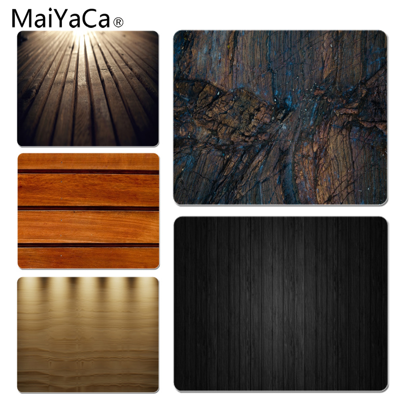 MaiYaCa Wet Wood Texture Large Mouse pad PC Computer mat Size for 18x22x0.2cm Gaming Mousepads