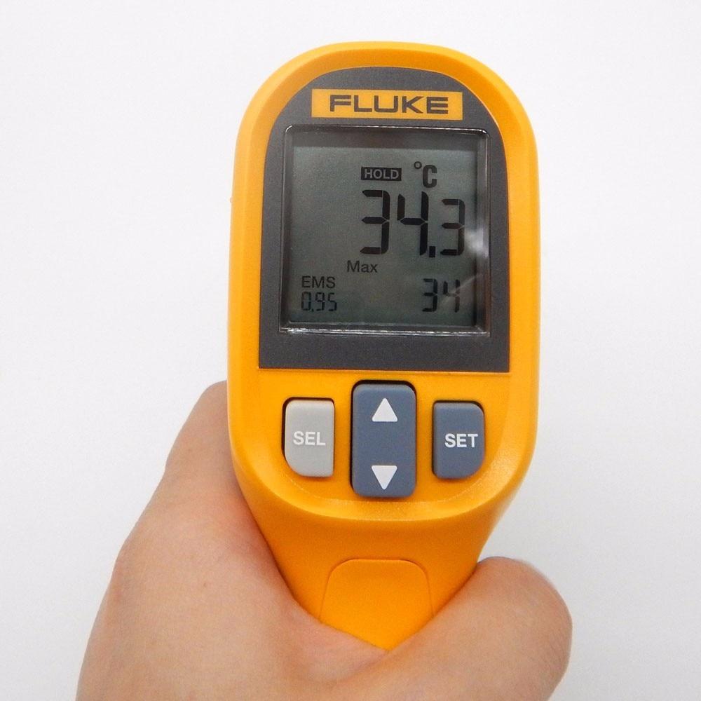 Original Max Mini Handheld Laser Infrared Thermometer Gun 30 To 350c Fluke 59 Mt4 4