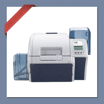 High security Zebra ZXP8  card printer dual-sided with one Zebra 800012-445 and two Zebra 800012-601