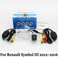 For Renault Symbol III 2012~2016 / RCA AUX Wire Or Wireless Camera / HD Wide Lens Angle / CCD Night Vision Rear View Camera