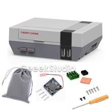 Neue auf lager! Mini NES NESPI FALL, Retroflag Nespi Fall mit Lüfter für Raspberry Pi 3/2/B +