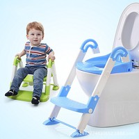 2015 Idea Design Portable Ladder Toilet Baby Potty Training Chair Plastic Toilet Seat For Children Baby
