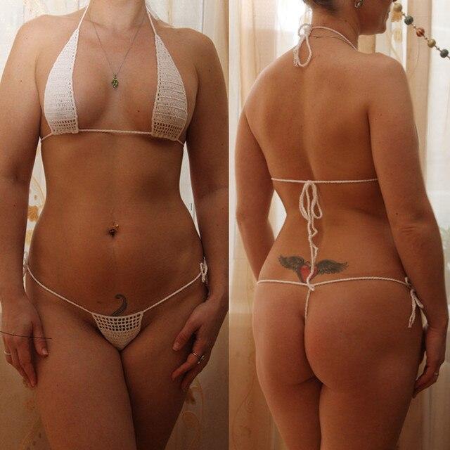 g string sunbathing Bikini