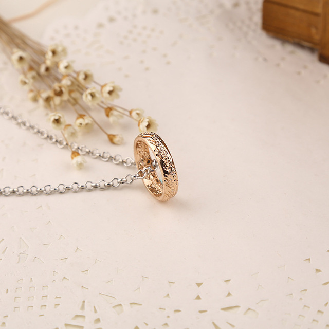 Carbide One Ring of Power Pendant