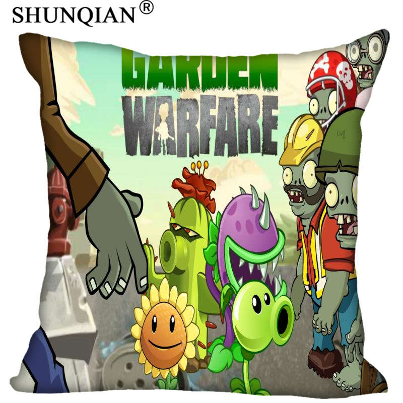 Best Plants VS Zombies Pillowcase Wedding Decorative PillowCover Custom Gift For (Two Sides) Printed Pillow Cases A9.30