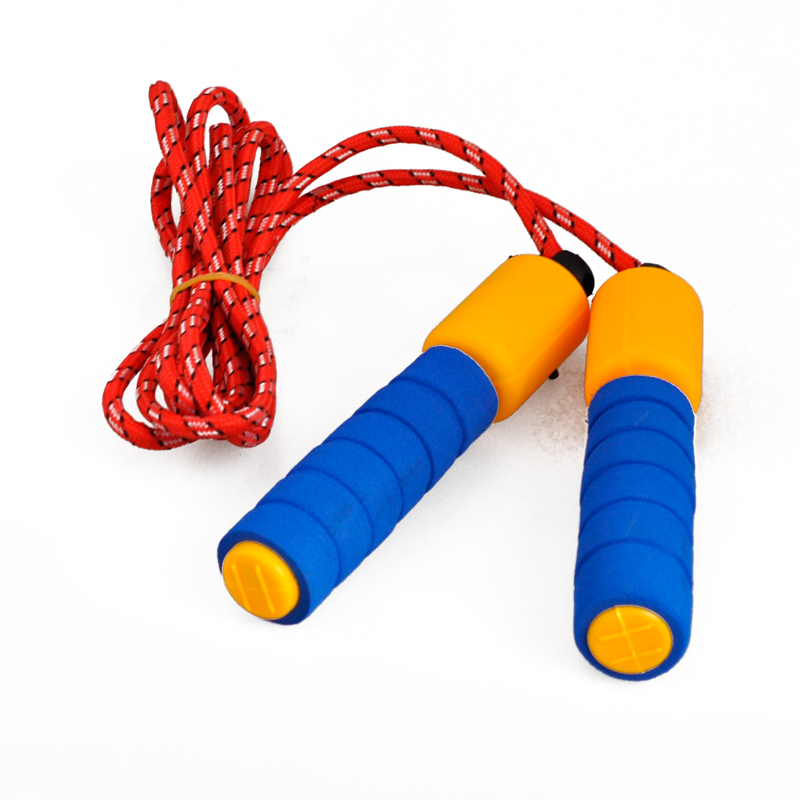 1pc adjustable gym sports fitness exercise fast speed counting jump skip rope TO