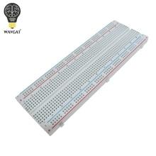 WAVGAT Bo Mạch Chất Lượng Cao 830 Điểm Solderless PCB Bánh Mì Ban MB 102 MB102 Thử Nghiệm Phát Triển Tự Làm