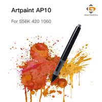 GAOMON Professionale Tavoletta Grafica per il Disegno Pen 2048 Livelli ArtPaint AP10 Dello Stilo per GAOMON S56K/M106K/Huion 420 /1060 Più