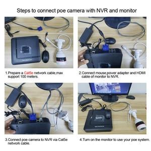 Image 5 - KERUI 4CH 4 ช่อง POE NVR 1080P Full HD WiFi IP กล้อง NVR เครื่องบันทึกวิดีโอชุดชุดความปลอดภัย ONVIF ระบบกล้องวงจรปิด