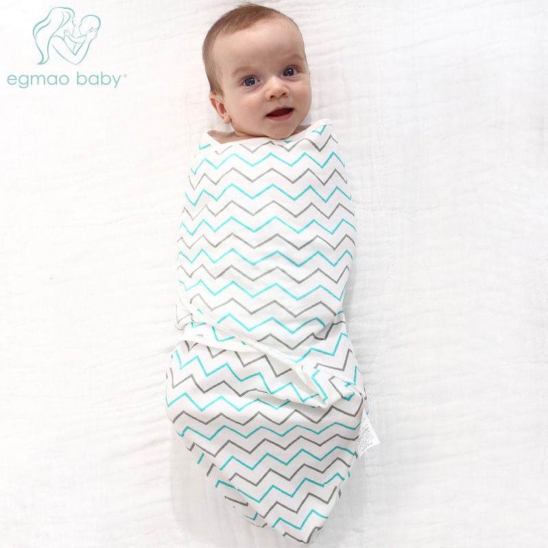 Baby Swaddle Wrap Summer Soft Baby Cotton & Swaddling 100% Cotton Infant Envelope Newborn Aden Anais Baby Blanket,Sleepsacks