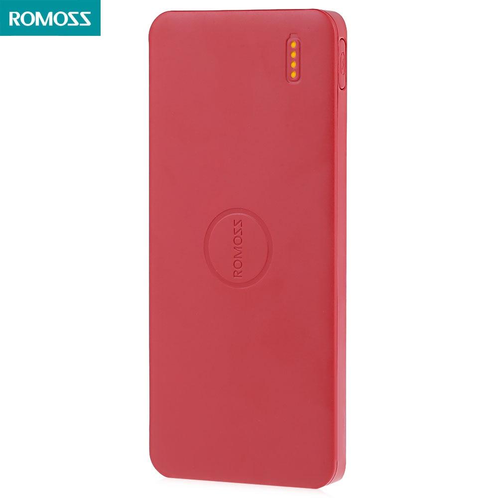 bilder für ROMOSS Polymos 5 5000 mAh External Battery Pack Tragbares Ladegerät Bewegliche Energienbank Stromversorgung Station für Smartphones PCs